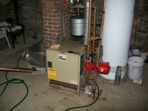 Boiler Installation, Pre-Upgrade