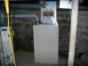 Furnace Installation, Pre-Upgrade