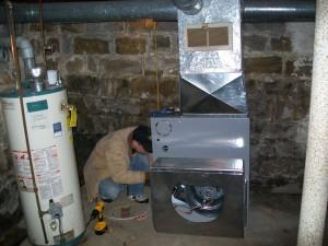 Furnace Installation, Post-Upgrade